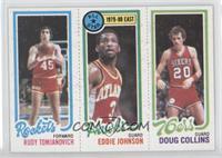 Rudy Tomjanovich, Eddie Johnson, Doug Collins