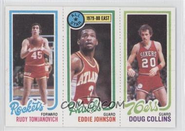 1980-81 Topps #RTEJDC - Rudy Tomjanovich, Eddie Johnson, Doug Collins