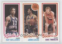 Ray Williams, John Lucas, Dave Twardzik