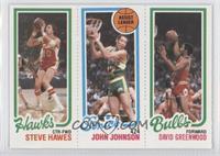 Steve Hawes, John Johnson, David Greenwood