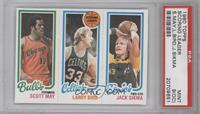 Scott May, Larry Bird, Jack Sikma [PSA 9 (OC)]