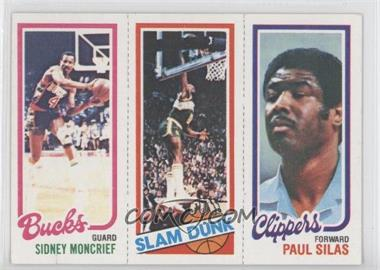 1980-81 Topps #SMLSPS - Sidney Moncrief, Lonnie Shelton, Paul Silas