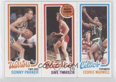 1980-81 Topps #SPDTCM - Sonny Parker, Dave Twardzik, Cedric Maxwell
