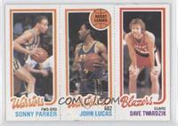Sonny Parker, John Lucas, Dave Twardzik