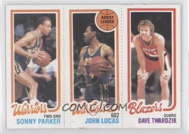 1980-81 Topps #SPJLDT - Sonny Parker, John Lucas, Dave Twardzik