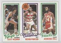 Scott Wedman, Kevin Porter, Armond Hill