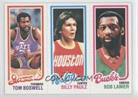 Tom Boswell, Billy Paultz, Bob Lanier