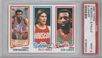 Tom Boswell, Billy Paultz, Bob Lanier [PSA 9]