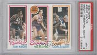 Toby Knight, Charlie Scott, Paul Westphal [PSA 9]