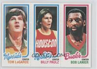 Bob Lanier, Billy Paultz, Tom LaGarde