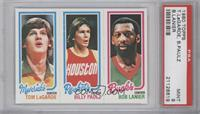 Bob Lanier, Billy Paultz, Tom LaGarde [PSA 9]