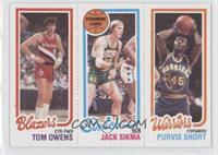 Tom Owens, Purvis Short, Jack Sikma