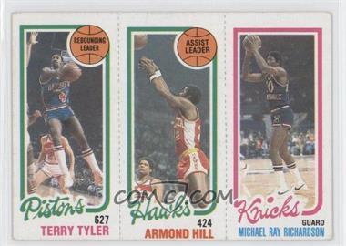 1980-81 Topps #TTAHMR - Terry Tyler, Armond Hill, Micheal Ray Richardson