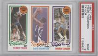 Terry Tyler, David Thompson, Brian Taylor [PSA 9]