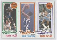 Terry Tyler, David Thompson, Brian Taylor [Good to VG‑EX]