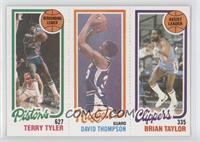Terry Tyler, David Thompson, Brian Taylor