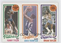 Terry Tyler, David Thompson, Brian Taylor