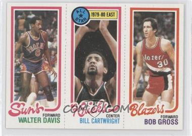 1980-81 Topps #WDBCBG - Walter Davis, Bill Cartwright, Bob Gross
