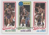 Walter Davis, George Gervin, Jim Chones
