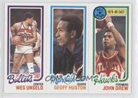 Wes Unseld, Geoff Huston, John Drew