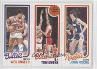 Wes Unseld, Tom Owens, John Roche