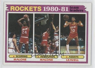 1981-82 Topps - [Base] #52 - Houston Rockets Team