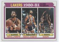 Team Leaders - Kareem Abdul-Jabbar, Norm Nixon