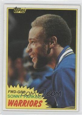 1981-82 Topps - [Base] #73W - Sonny Parker