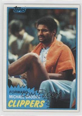 1981-82 Topps - [Base] #91W - Michael Brooks