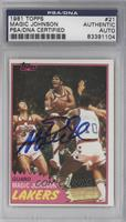 Magic Johnson [PSA/DNA Certified Auto]