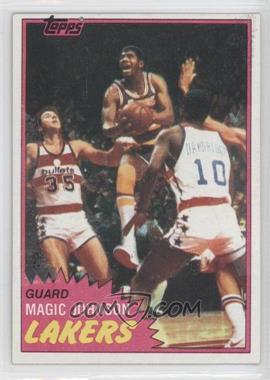 1981-82 Topps #21 - Magic Johnson