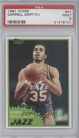 Darrell Griffith [PSA 9]