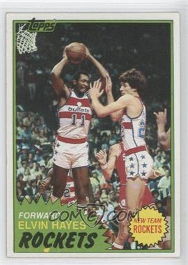 1981-82 Topps #42 - Elvin Hayes