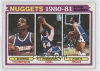 David Thompson, Dan Issel, Kenny Higgs