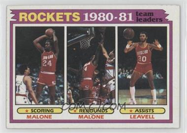 1981-82 Topps #52 - Houston Rockets Team