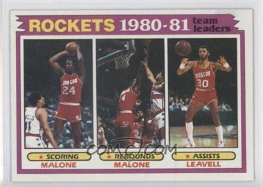 1981-82 Topps #52 - Houston Rockets Team