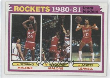 1981-82 Topps #52 - [Missing]