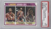 Team Leaders (Kareem Abdul-Jabbar, Norm Nixon) [PSA9]