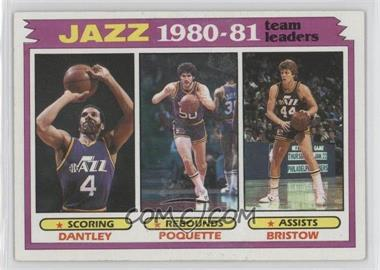 1981-82 Topps #65 - Utah Jazz Team