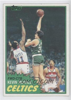 1981-82 Topps #75E - Kevin McHale
