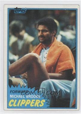 1981-82 Topps #91W - Michael Brooks