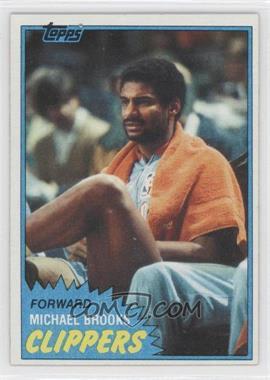 1981-82 Topps #91W - Michael Brooks