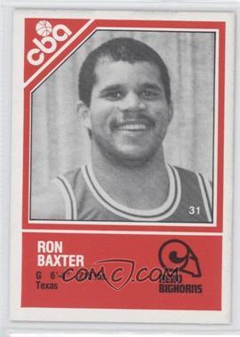 1982-83 TCMA CBA [???] #31 - Rod Balanis