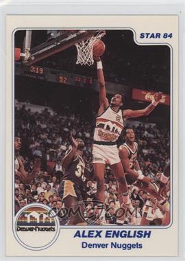 1983-84 Star - [Base] #186 - Alex English