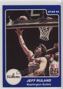 1983-84 Star - [Base] #204 - Jeff Ruland