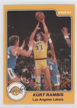1983-84 Star - [Base] #21 - Kurt Rambis