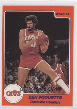 1983-84 Star - [Base] #237 - Ben Poquette