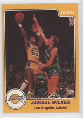 1983-84 Star - [Base] #24 - Jamaal Wilkes