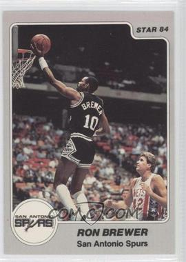 1983-84 Star - [Base] #243 - Ron Brewer