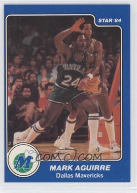 1983-84 Star - [Base] #49 - Mark Aguirre